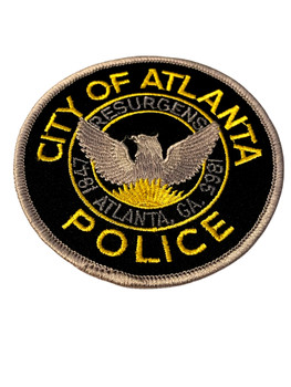 ATLANTA  POLICE GA PATCH