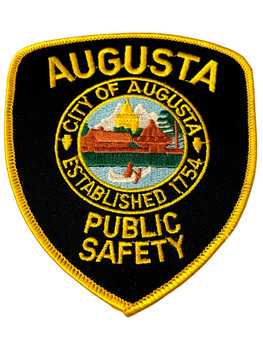 AUGUSTA  POLICE GA PATCH