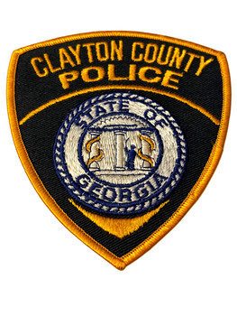 CLAYTON COUNTY POLICE GA PATCH 2