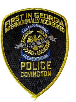 COVINGTON  POLICE GA PATCH