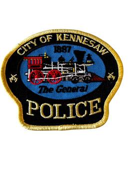 KENNESAW  POLICE GA PATCH