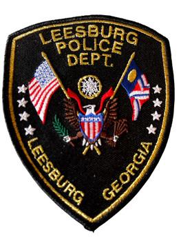 LEESBURG POLICE GA PATCH