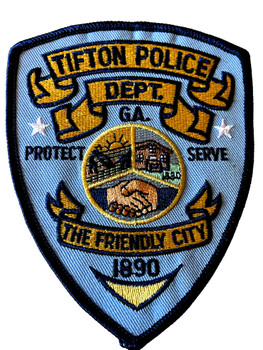 TIFTON  POLICE GA PATCH