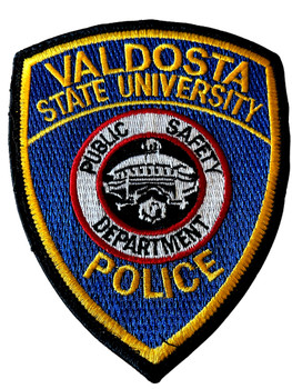 VALDOSTA STATE UNIVERSITY POLICE GA PATCH