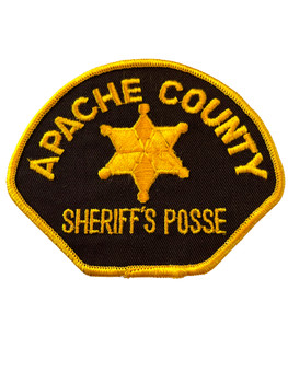 APACHE  COUNTY SHERIFF AZ PATCH