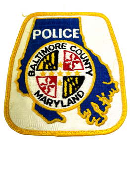 BALTIMORE COUNTY POLICE MD PATCH
