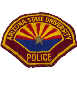 ARIZONA STATE UNIVERSITY  POLICE AZ PATCH