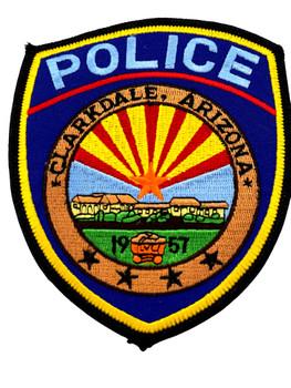 CLARKDALE  POLICE AZ PATCH