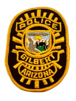 GILBERT  POLICE AZ PATCH