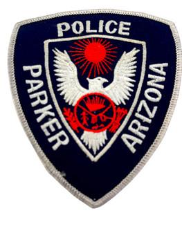 PARKER POLICE AZ PATCH