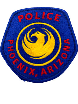 PHOENIX  POLICE AZ PATCH