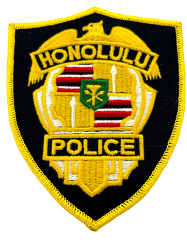 HONOLULU POLICE HI PATCH