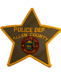 ALLEN COUNTY SHERIFF IN PATCH