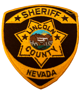 LINCOLN COUNTY SHERIFF NV PATCH