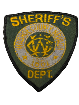 OLD WASHOE COUNTY SHERIFF NV PATCH