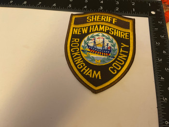 ROCKINGTON COUNTY SHERIFF NH PATCH