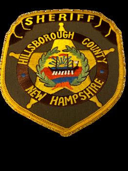 HILLSBOROUGH COUNTY SHERIFF NH PATCH