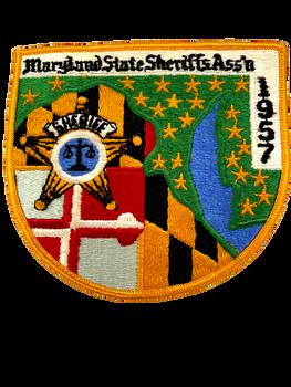 MARYLAND SHERIFFS ASSOC. MD PATCH