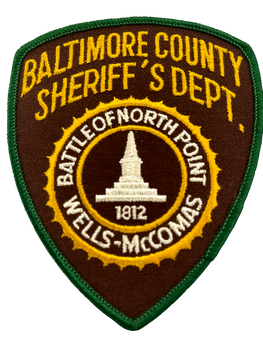 BALTIMORE COUNTY SHERIFF MD PATCH