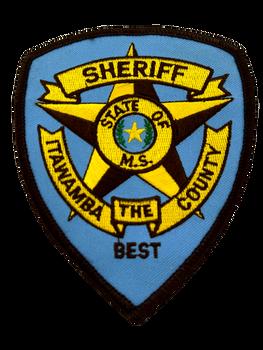 ITAWAMBA COUNTY SHERIFF MS PATCH