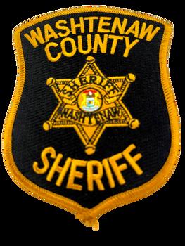 WASHTENAW COUNTY SHERIFF MI PATCH 2