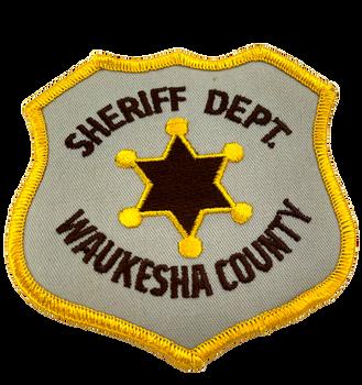 WAUKESHA COUNTY SHERIFF WI PATCH