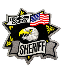 OKLAHOMA  COUNTY SHERIFF OK EAGLE PATCH