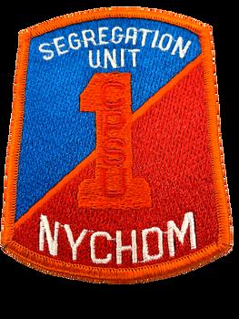 NEW YORK CITY CORRECTIONS SEGREGATION UNIT NY PATCH