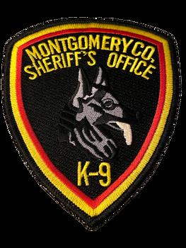 MONTGOMERY COUNTY SHERIFF NY K-9 PATCH
