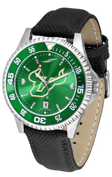 Men's South Florida Bulls - Competitor AnoChrome  -  Color Bezel Watch