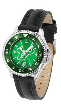 South Florida Bulls - Competitor Ladies' AnoChrome  -  Color Bezel Watch
