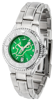 South Florida Bulls - Ladies' Competitor Steel AnoChrome Watch