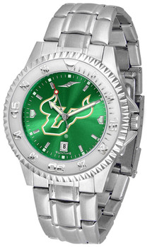 Men's South Florida Bulls - Competitor Steel AnoChrome Watch