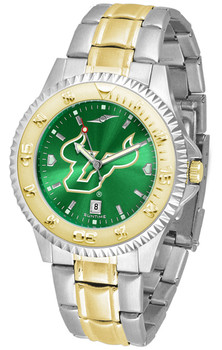 Men's South Florida Bulls - Competitor Two - Tone AnoChrome Watch