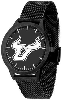 South Florida Bulls - Mesh Statement Watch - Black Band - Black Dial