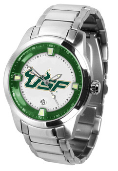 Men's South Florida Bulls - Titan Steel Watch