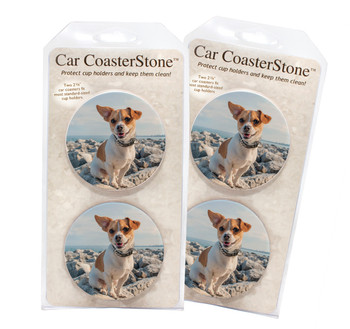 Custom Absorbent Car Coasters - Benefits American Cancer Society