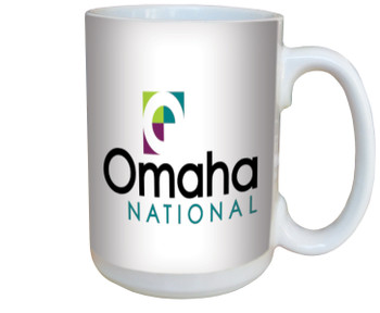 "Custom 15 Oz. Premium Full Color ""Photo"" Ceramic Mugs - Benefits American Cancer Society"