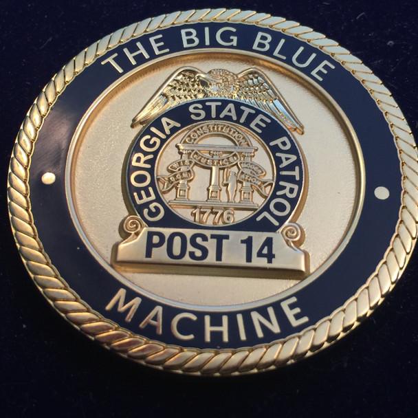 Georgia STATE PATROL  COLQUITT COIN RARE