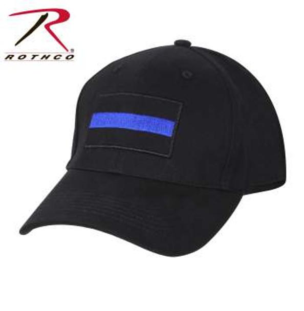 Thin Blue Line Low Profile Cap