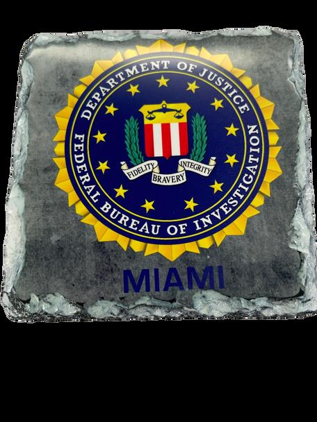 FBI SEAL MIAMI SLATE