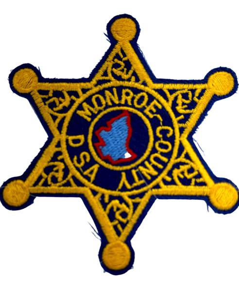 MONROE COUNTY SHERIFF NY DSA PATCH PATCH
