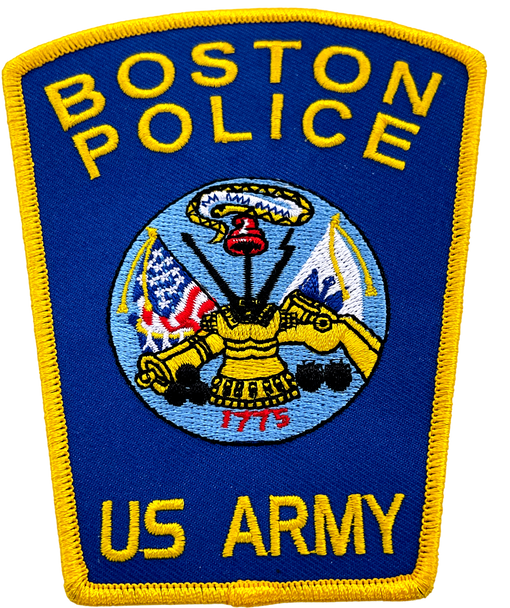 BOSTON POLICE US ARMY PATCH