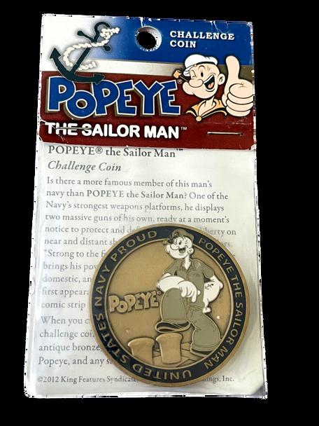 POPEYE THE SAILOR MAN COIN
