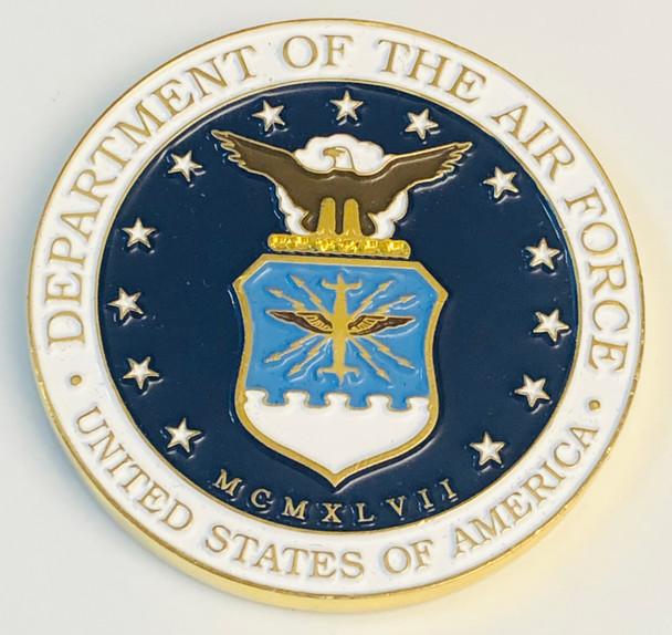 U.S. AIR FORCE BLUE LINE COIN