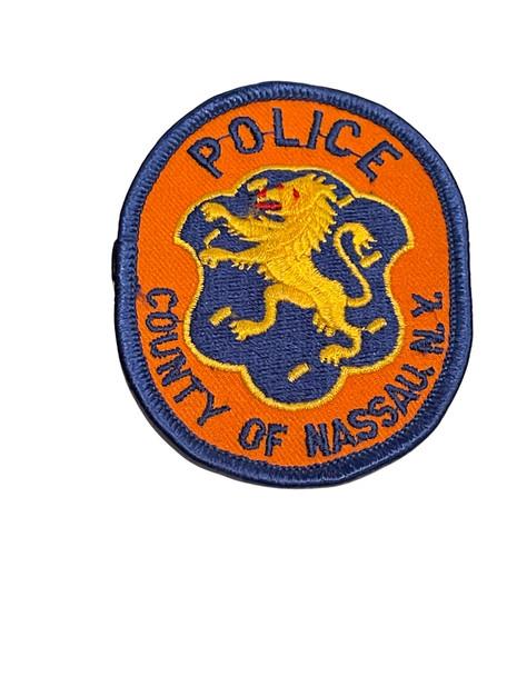 NASSAU POLICE. NY SMALL PATCH