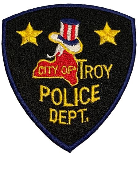 CITY OF TROY POLICE. NY PATCH