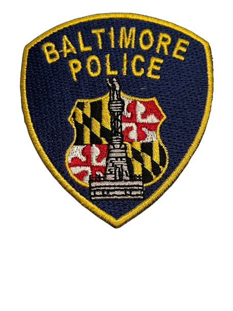 BALTIMORE POLICE MD PATCH SMALL