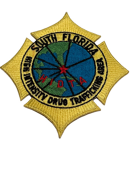 HIDTA SOUTH FLORIDA DRUG FL PATCH VERY RARE