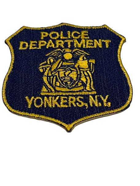 YONKERS NY LASER CUT POLICE PATCH